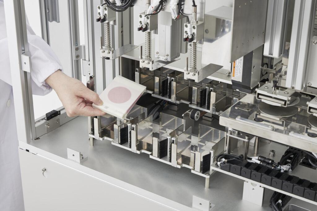 微生物検査前処理装置 フィルム培地用